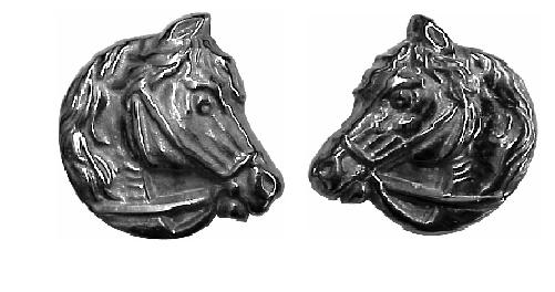 Horse Head Ornaments