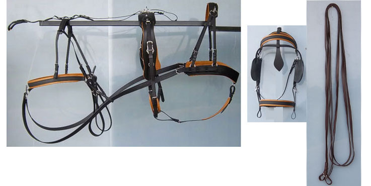 Granite Team Marathon Harness With Tan