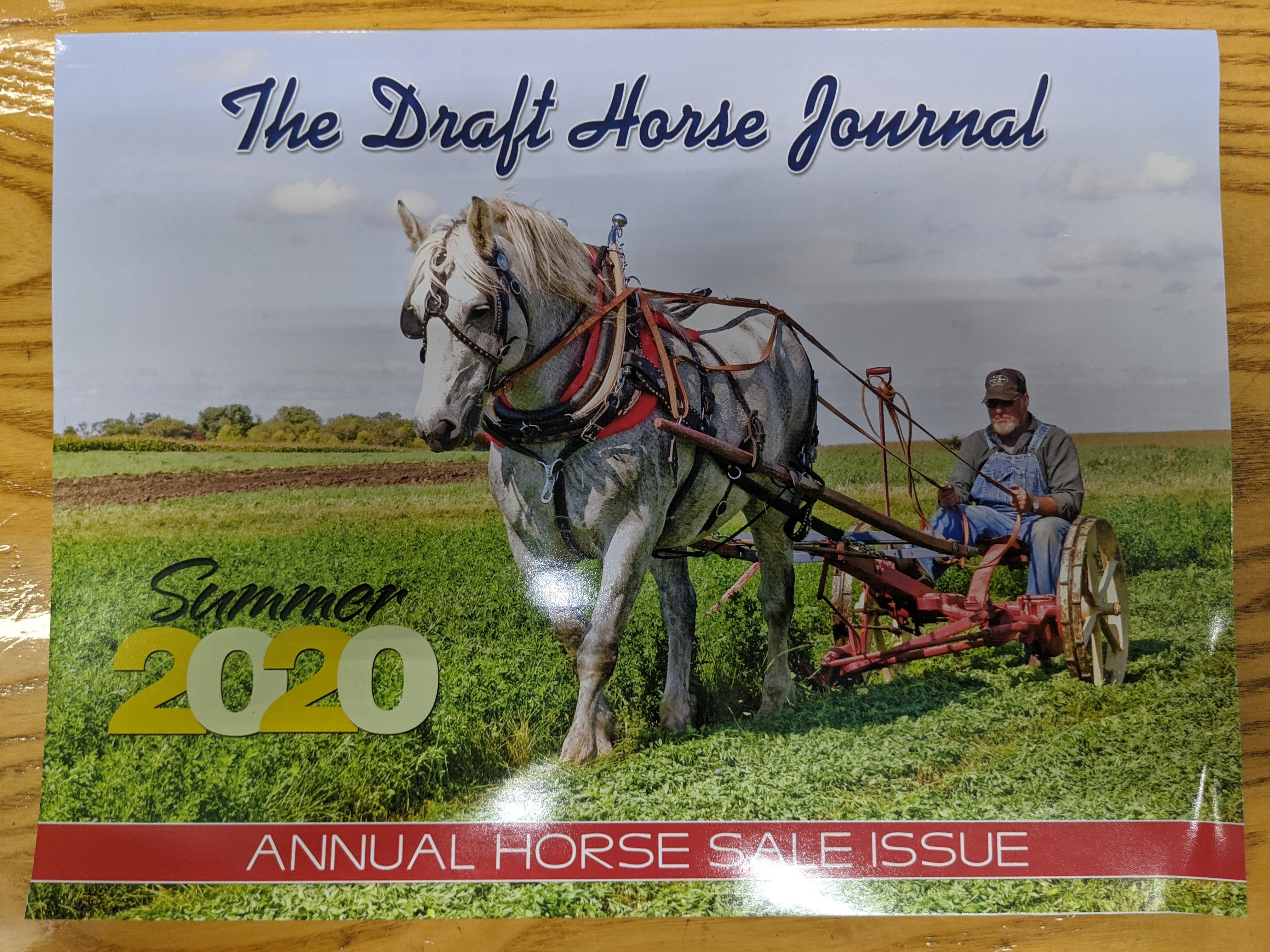 The Draft Horse Journal Summer Edition