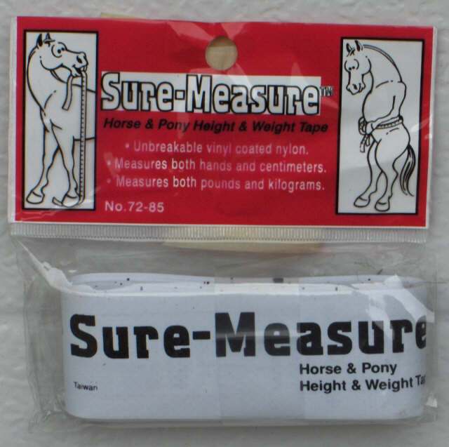 Horse Weight & Height Measuring Tape